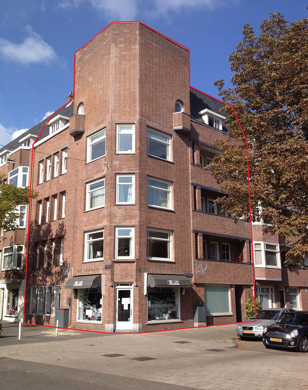 Rooseveltlaan-194 (I-II-III-IV) / -Maasstraat 133